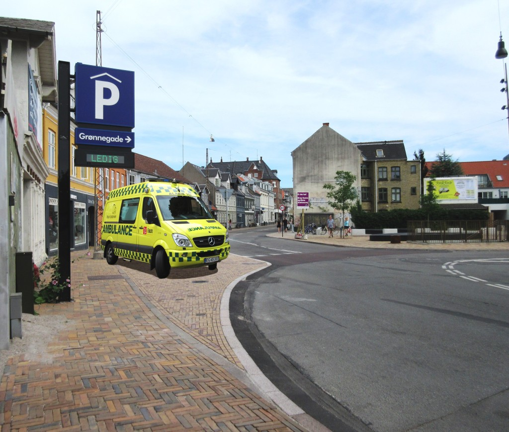 Ambulancerne i Vindegade vil foreløbigt stå standby fra klokken 6-10 og 15-18.